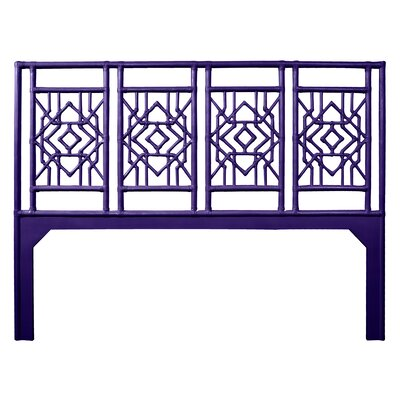 Tulum King Open-Frame Headboard Color: Perfect Purple