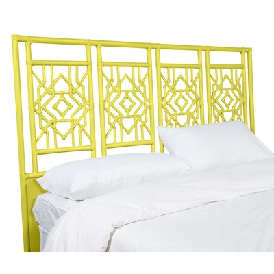 Tulum Queen Open-Frame Headboard Color: Sunflower Yellow