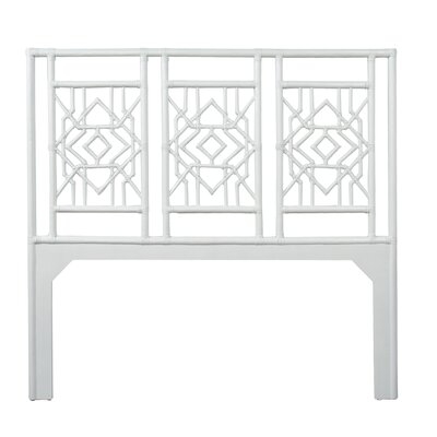 Tulum Queen Open-Frame Headboard Color: Bright White