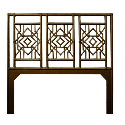Tulum Queen Open-Frame Headboard Color: Coffee Brown