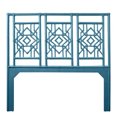 Tulum Queen Open-Frame Headboard Color: Pacific Blue