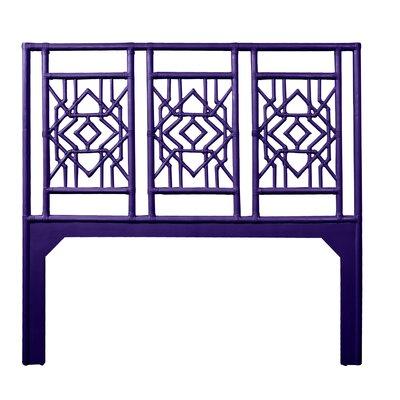Tulum Queen Open-Frame Headboard Color: Perfect Purple