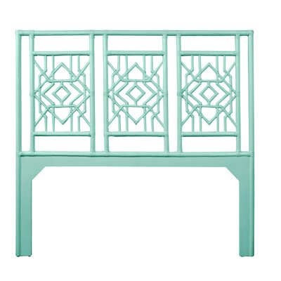 Tulum Queen Open-Frame Headboard Color: Turquoise