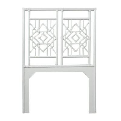 Tulum Twin Open-Frame Headboard Color: Bright White
