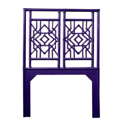 Tulum Twin Open-Frame Headboard Color: Perfect Purple