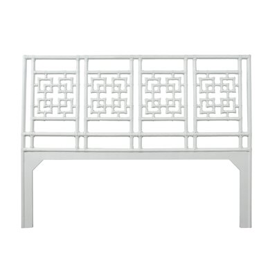 Palm Springs Open-Frame Headboard Size: Queen, Color: Bright White