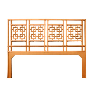 Palm Springs Open-Frame Headboard Size: King, Color: Citrus Orange