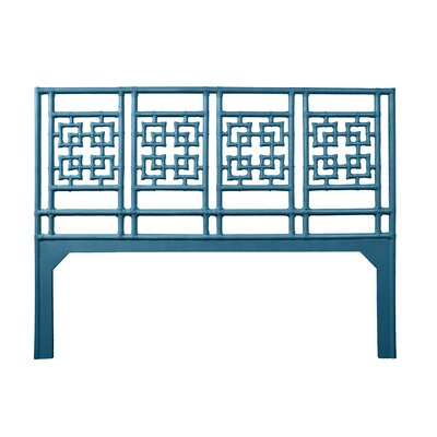 Palm Springs Open-Frame Headboard Size: Twin, Color: Pacific Blue