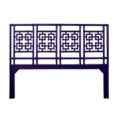 Palm Springs Open-Frame Headboard Size: King, Color: Perfect Purple