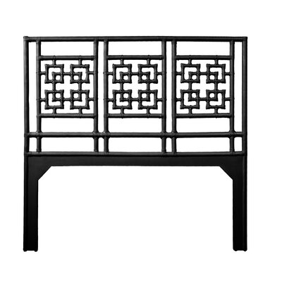 Palm Springs Queen Open-Frame Headboard Color: Black