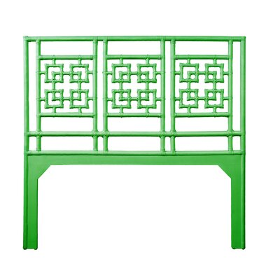 Palm Springs Queen Open-Frame Headboard Color: Bright Green