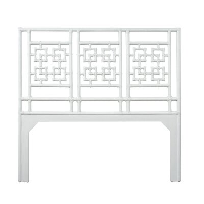 Palm Springs Queen Open-Frame Headboard Color: Bright White