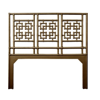 Palm Springs Queen Open-Frame Headboard Color: Coffee Brown