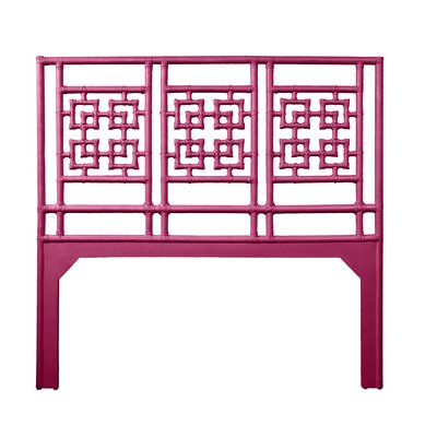 Palm Springs Queen Open-Frame Headboard Color: Hot Pink