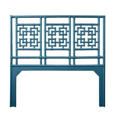 Palm Springs Queen Open-Frame Headboard Color: Pacific Blue