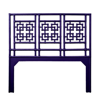Palm Springs Queen Open-Frame Headboard Color: Perfect Purple