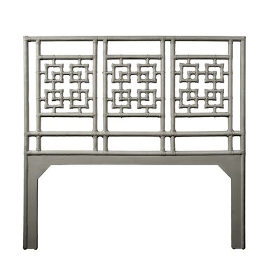 Palm Springs Queen Open-Frame Headboard Color: Steel Gray