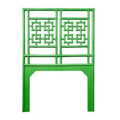 Palm Springs Twin Open-Frame Headboard Color: Bright Green