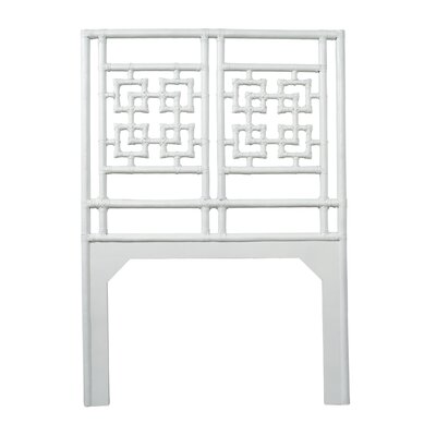 Palm Springs Twin Open-Frame Headboard Color: Bright White