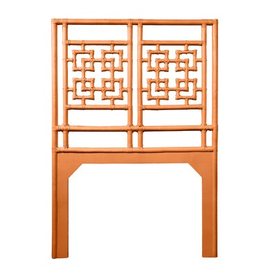 Palm Springs Twin Open-Frame Headboard Color: Citrus Orange