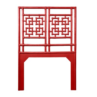 Palm Springs Twin Open-Frame Headboard Color: Fire Red