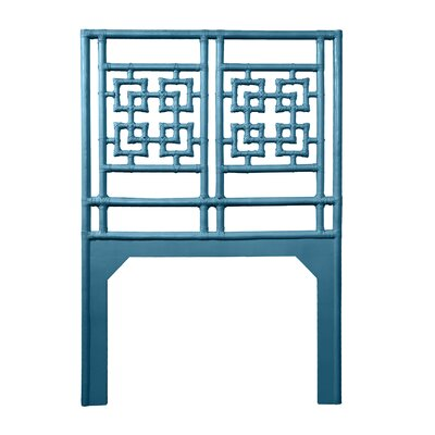 Palm Springs Twin Open-Frame Headboard Color: Pacific Blue