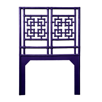 Palm Springs Twin Open-Frame Headboard Color: Perfect Purple