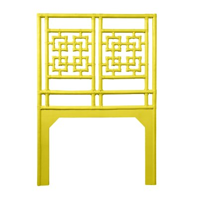 Palm Springs Twin Open-Frame Headboard Color: Sunflower Yellow