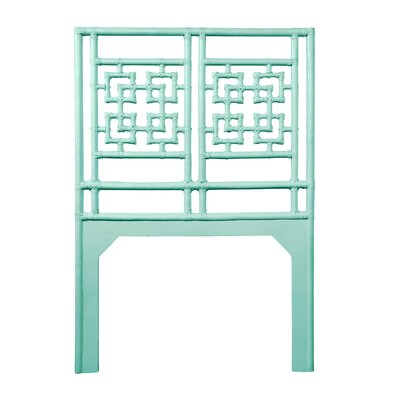 Palm Springs Twin Open-Frame Headboard Color: Turquoise
