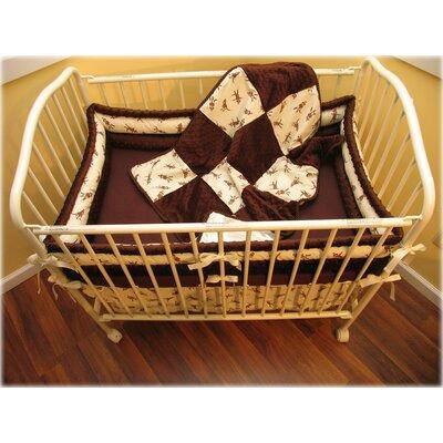 Buy low price ozark mountain kids monkey business 1100pc for Mountain crib bedding