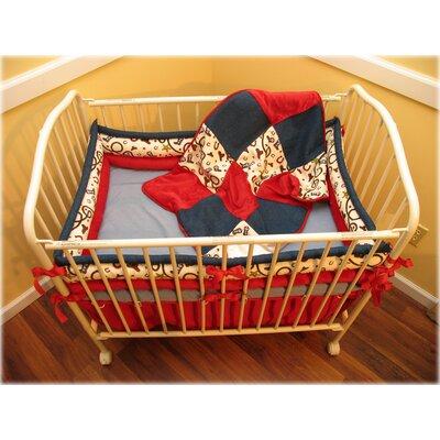 Furniture kids furniture crib set porta crib set for Mountain crib bedding
