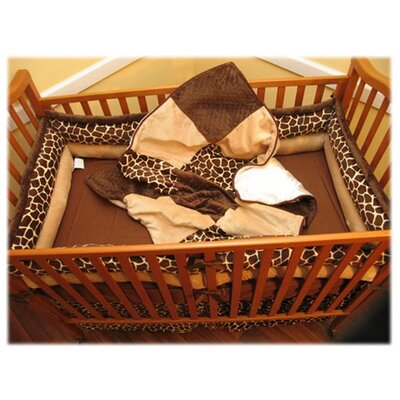 Giraffe crib bedding totally kids totally bedrooms for Mountain crib bedding