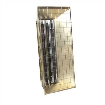 Portable Electric 46,076 BTU Heavy Duty Infrared Heater