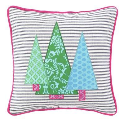 Holiday 100% Cotton Throw Pillow