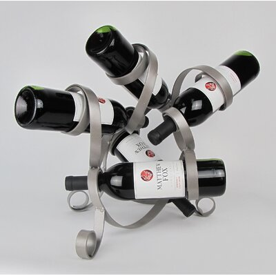 5 Bottle Tabletop Wine Rack
