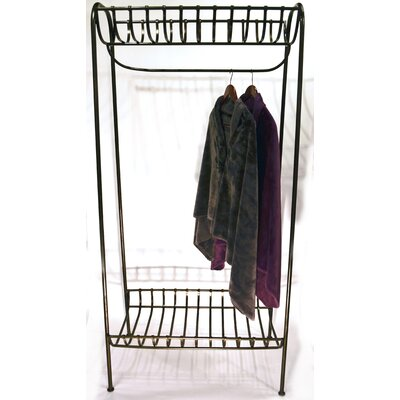 Metrotex Designs Metro Storage Clothes Rack