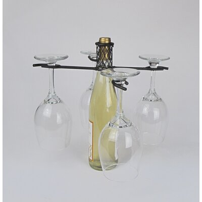 Industrial Evolution 1 Bottle Tabletop Wine Rack