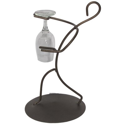 Tabletop Wine Glass Rack Finish: Meteor