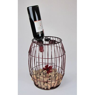 Industrial Evolution 3 Bottle Tabletop Wine Rack Finish: Rich Merlot