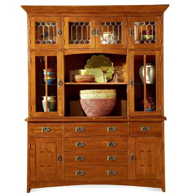 Mastercraft Collections Prairie Mission Hutch and Buffet at Sears.com