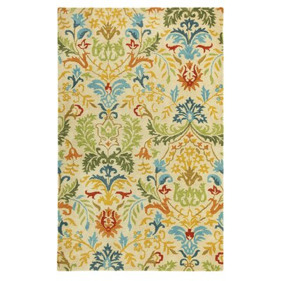 Hayden Floral Area Rug Rug Size: Rectangle 5 x 8