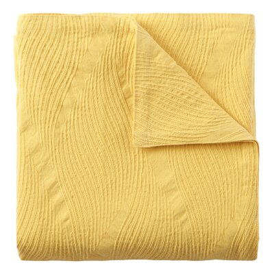 Cameron Quilt Size: King, Color: Lemon