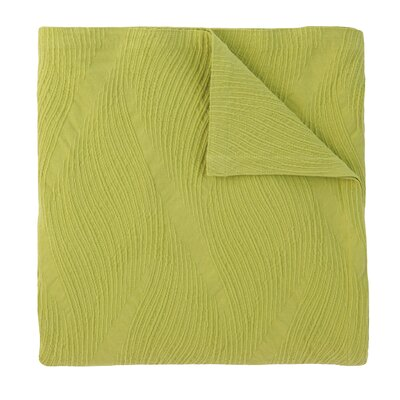 Cameron Quilt Size: Twin, Color: Lime