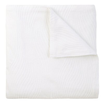 Cameron Matelasse Sham Size: King, Color: White