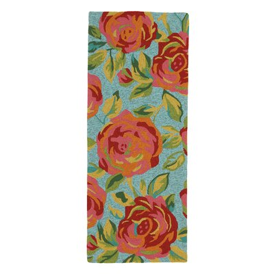 Aphrodite Lake Outdoor Area Rug Rug Size: Runner 26 x 8