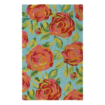 Aphrodite Lake Outdoor Area Rug Rug Size: Rectangle 5 x 8