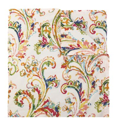 Freesia Duvet Cover Size: King