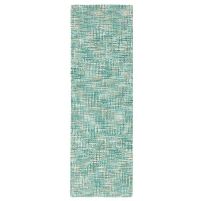 Tweedy Lake Machine Woven Blue Area Rug Rug Size: Runner 26 x 8