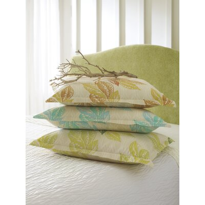 Shaye Duvet Sham Size: King, Color: Lake