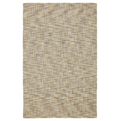 Tweedy Driftwood Machine Woven Cream Area Rug Rug Size: 1 x 1